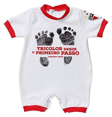 Macacão São Paulo Primeiro Passo - Torcida Baby
