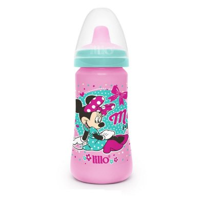 Copo Lillo Minnie Colors Rosa 300 Ml +6 Meses