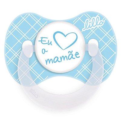 Chupeta Lillo Funny Amor Azul Tam 2