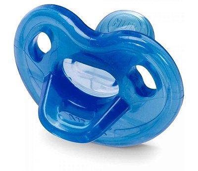 Chupeta NUK Genius 100% Silicone Azul Tam 1