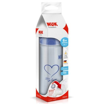 Mamadeira Nuk Evolution Boy 250ML S2
