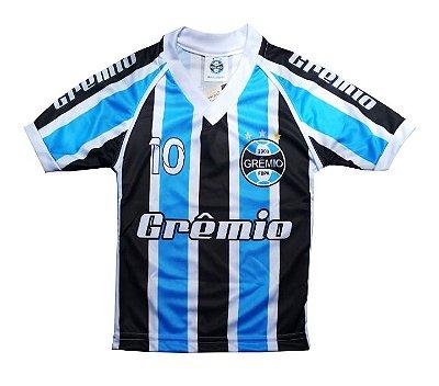 Camisa Infantil Grêmio Listrada Dry Oficial