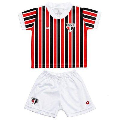 Conjunto Bebê Uniforme São Paulo Torcida Baby