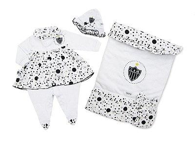 Kit Maternidade Atlético MG Luxo Meninas Revedor