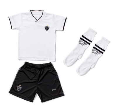 Conjunto Infantil Atético MG Uniforme Dry Oficial