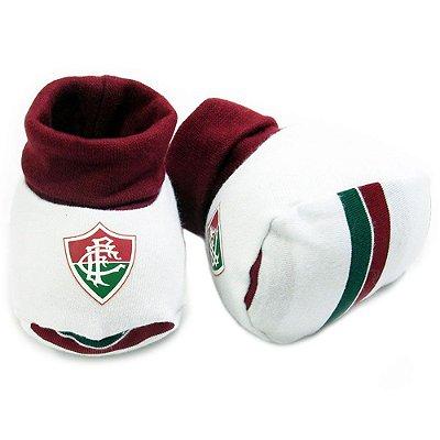 Meia Pantufa Bebê Fluminense Oficial