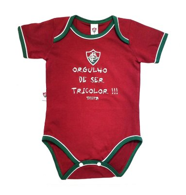 "Body Fluminense ""Orgulho De Ser Tricolor"" Revedor"