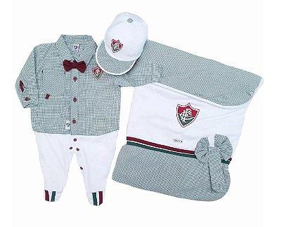 Kit Maternidade Fluminense Luxo Meninos Oficial
