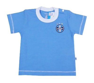 Camiseta Grêmio Bebê Azul Oficial