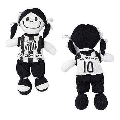 Boneca Torcedora Santos 25cm - Torcida Baby