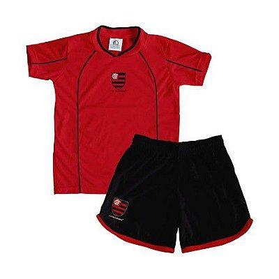 Conjunto Infantil Flamengo Micro Dry - Torcida Baby