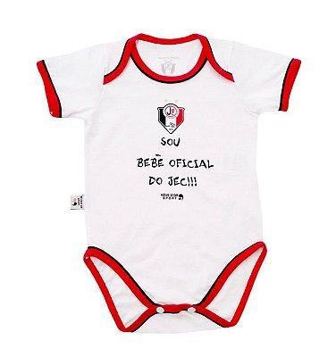 "Body Joinville ""Sou Bebê Oficial"" Revedor"