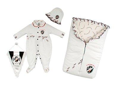 Kit Maternidade Vasco com Saco de Dormir Feminino Oficial