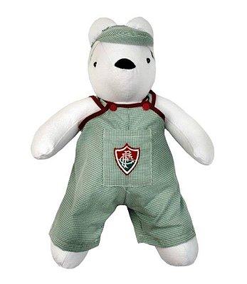 Ursinho Torcedor Fluminense Pelúcia 33cm