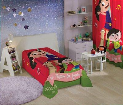 Colcha Infantil Show da Luna 1,50m x 2,10m 1 peça - Lepper