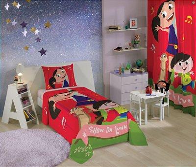 Jogo de Cama Infantil Show da Luna com 2 pçs - Lepper
