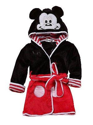 Roupão Aveludado Mickey Infantil