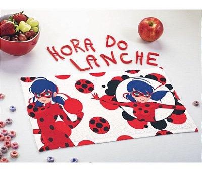 Toalha Lancheira Infantil Miraculous Ladybug - Lepper
