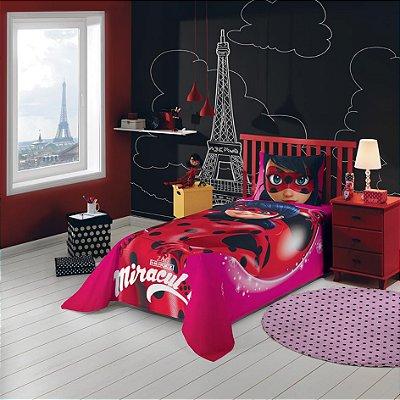 Jogo de Cama Infantil Ladybug 2 pçs - Lepper