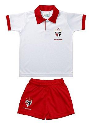 Conjunto Infantil São Paulo Polo Oficial - Torcida Baby