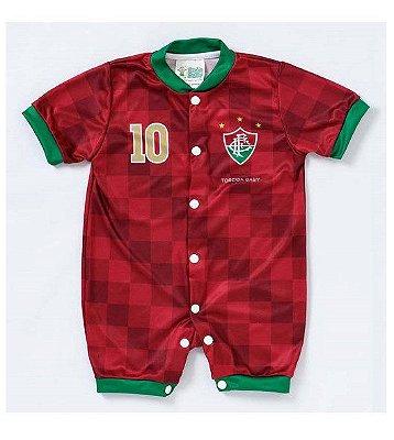 Macacão Curto Bebê Fluminense - Torcida Baby