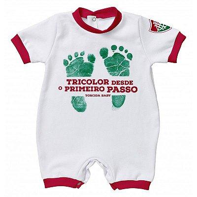 Macacão Fluminense Primeiro Passo - Torcida Baby