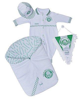 Kit Macacão Palmeiras com Saco de Dormir Revedor