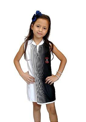 Vestido Infantil Corinthians Tubinho - Torcida Baby