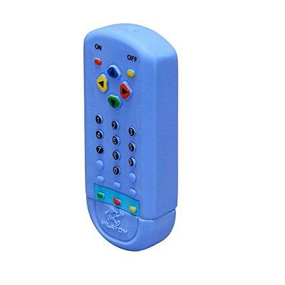 Mordedor Bebê Controle Remoto Azul - Vila Toy