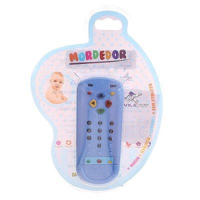 Mordedor Controle Remoto Azul - Vila Toy