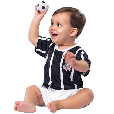 Uniforme Bebê Corinthians Oficial - Torcida Baby