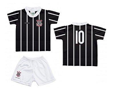 Uniforme Infantil Corinthians Oficial - Torcida Baby