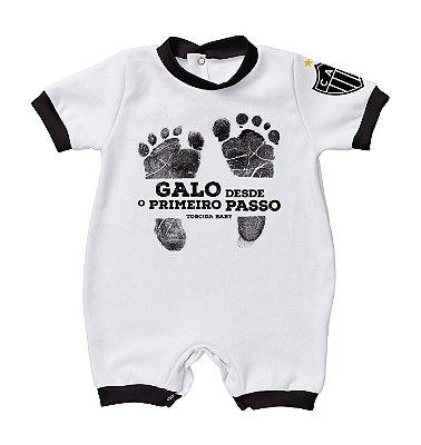 Macacão Bebê Atlético MG Primeiro Passo - Torcida Baby