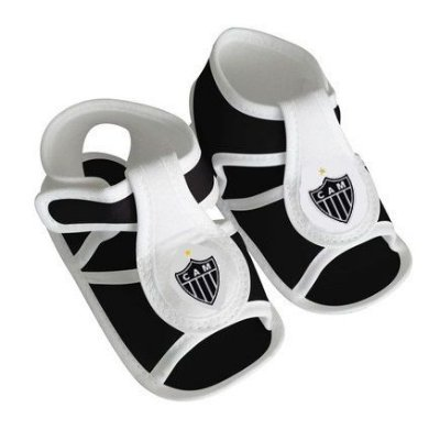 Sandália Bebê Atlético MG - Torcida Baby