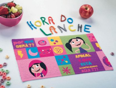 Toalhinha de Lancheira Infantil Show da Luna - Lepper