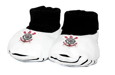 Meia Pantufa Bebê Corinthians Oficial