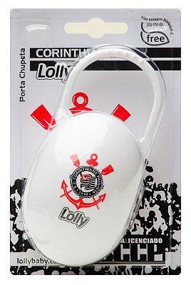 Porta Chupeta Corinthians - Lolly Baby