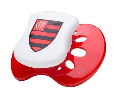 Chupeta Flamengo Silicone Redonda Tam 2 - Lolly