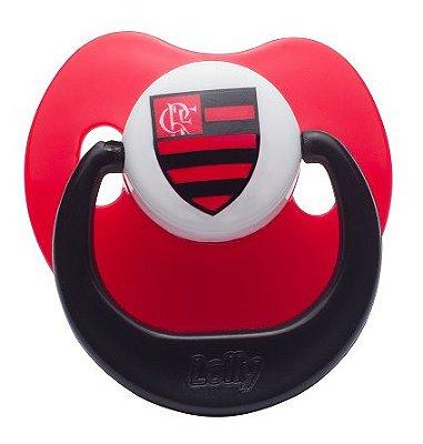Chupeta Flamengo Silicone Bico Orto Tam 1 - Lolly