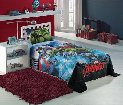 Jogo de Cama Infantil Avengers com 2 Pçs - Lepper