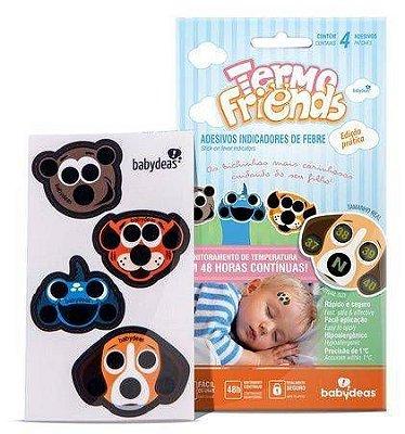 Termômetro Adesivo Bebê Termo Friends 4 unidades Original