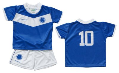 Conjunto Infantil Uniforme Cruzeiro Dry Oficial - Torcida Baby