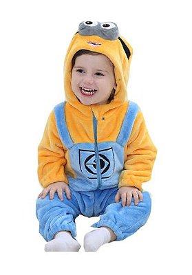 Macacão Bebê Minions Plush Luxo