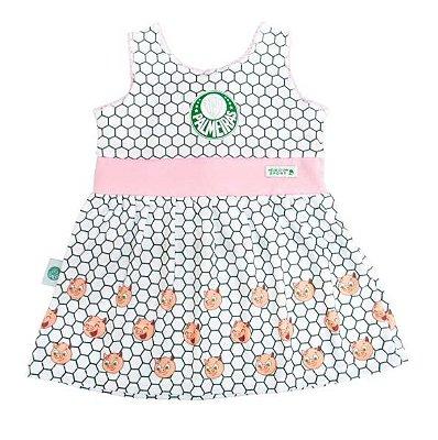 Vestido Bebê Palmeiras Porquinhos Oficial
