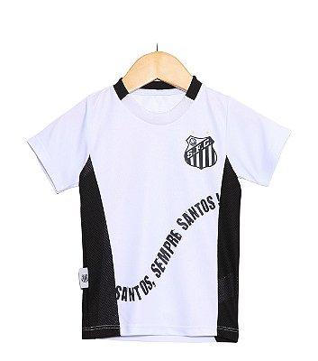 Camiseta Infantil Santos Sempre Santos Oficial