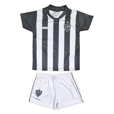 Uniforme Infantil Atlético Mg Oficial - Torcida Baby