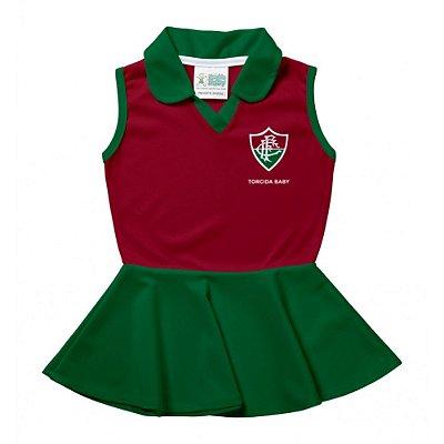 Vestido Bebê Fluminense Polo - Torcida Baby