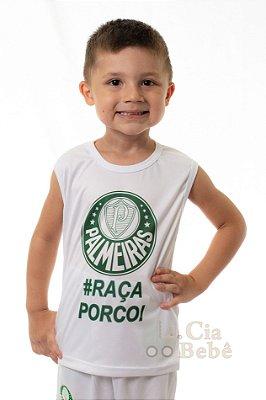 Camiseta Regata Infantil Palmeiras Oficial