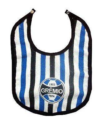 Babador Bebê Grêmio Listrado Oficial