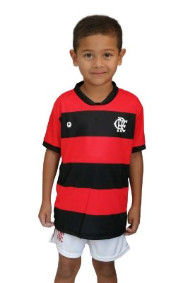 Conjunto Flamengo Uniforme Infantil - Torcida Baby
